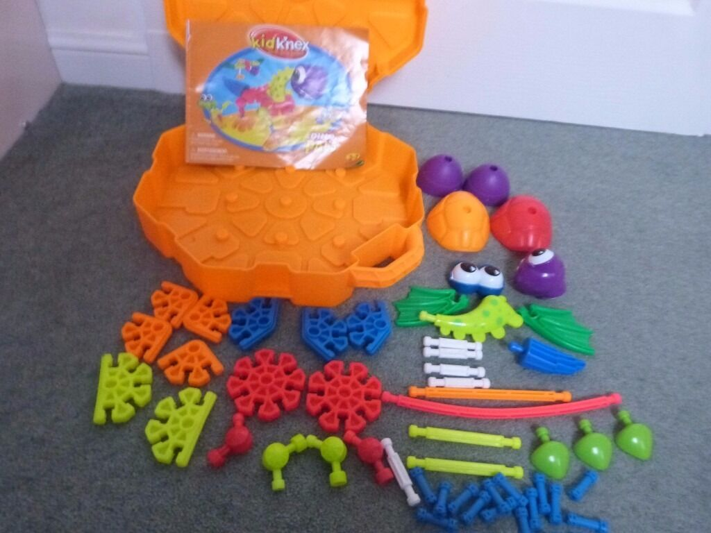 kid knex preschool construction toy dino pals build your own