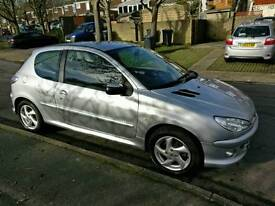 Peugeot 206 1.4 Sport low mileage cheap insurance