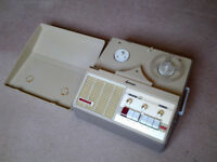 Cossor reel to teel tape player and rare tapes.