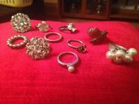 Job lot of rings