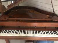Monnington and Weston baby grand piano