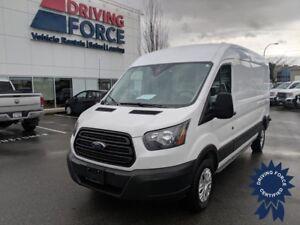 "2016 Ford Transit T-250 148"" WB Medium Roof Cargo Van, 3.7L Gas"