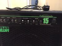Bass amp trace Elliot commando 15