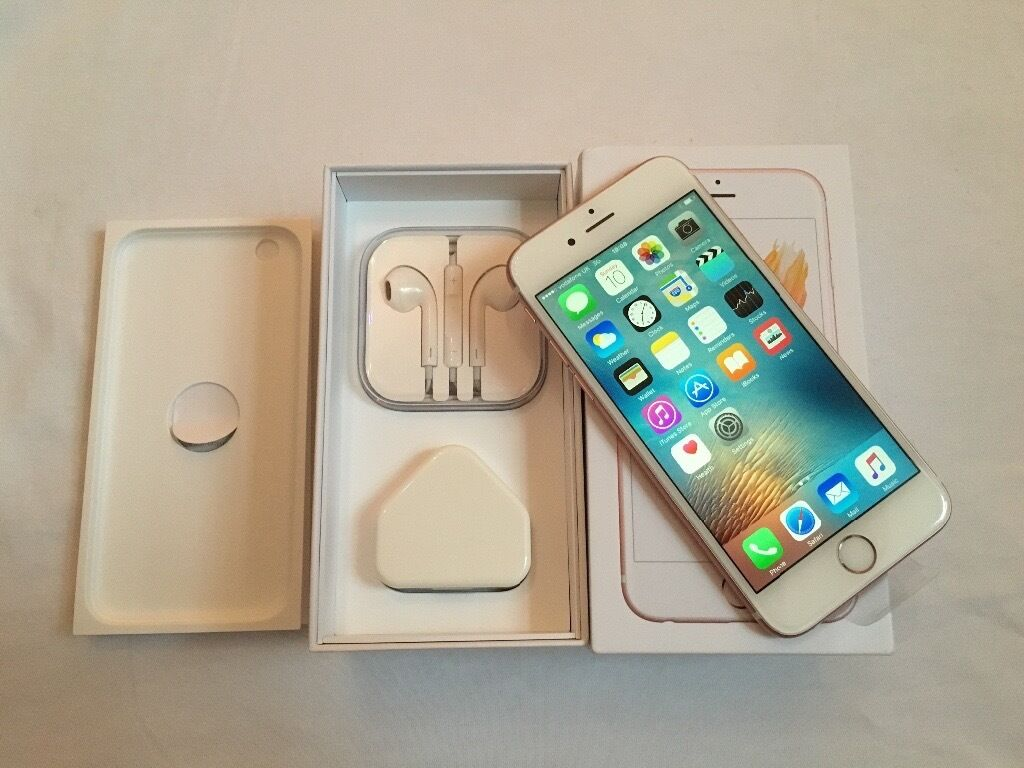 Apple iPhone 6S 16GB Rose Gold Brand new in box with warranty and proof of receipt for salein LondonGumtree - Apple iPhone 6S 16GB Rose Gold Brand new in box with warranty and proof of receipt for sale This is a brand new iPhone 6S 16GB Rose Gold Comes in box with all accessories instructions Comes with Apple warranty and proof of receipt and the receipt...