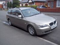 Superb Bmw 525d, 6 cylinder, 6 speed manual gearbox, smooth powerful car, excellent on fuel