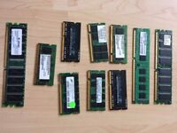 laptop and pc Memory, for sale