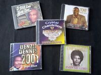 5 GOSPEL MUSIC CDs - NEW and still sealed in the original manufacturer's plastic wrapping