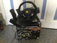 Thrustmaster Ferrari 458 Steering Wheel and Pedals