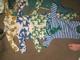 Bundle 3-6 baby boy clothes! Some never worn! Next, to max, H&M and jasper Conrad kids