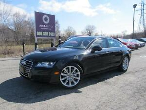 2014 Audi A7 3.0T Progressiv SAVE MORE FULL FACTORY WARRANTY TI