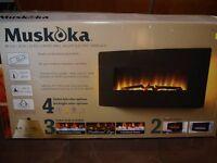 Boxed Muskoka Electric Fire