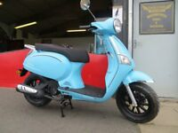 EVOLUTION MOTOR WORKS - Lurgan *NEW* Lexmoto 125 Riviera. Finance available subject to status.