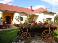 Self Catering Holiday Cottage in Rural Hungary