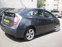 TOYOTA PRIUS T SPIRIT 62 REG 2012 AUTOMATIC HYBRID ELECTRIC --- PCO UBER --- 5 DOOR HATCHBACK