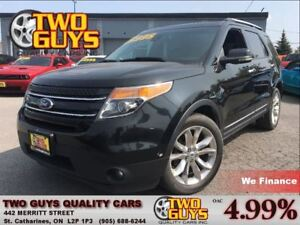 2013 Ford Explorer Limited NAV ROOF LEATHER 4WD