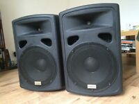 Studiospares Active PA speakers (Pair)