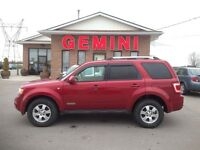 2008 Ford Escape Limited 4x4 V6 One Owner