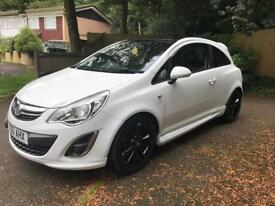 Vauxhall corsa d 1.2 limited edition white low mileage