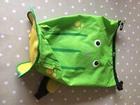 Ribbit the frog trunki paddlepak rucksack