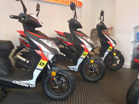 Beeline Tapo RS 50cc 2017 - 17 Plate scooter moped
