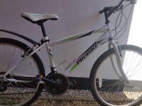Boys Bike: Probike 16 inch frame. Rigid Fork. 6 speed Shimano REVO shifters.