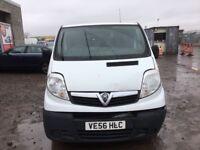 Vauxhall vivaro 2007 year spare parts available