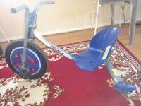Razor Unisex Child Rip Rider 360 3 Wheeled Scooter - Blue on Sale