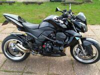 Streetfighter Kawasaki z1000 b8f motorcycle £1k+extras fsh custom black