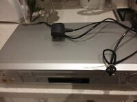 Sony VHS player, excellent condition, comes with remote and instruction booklet