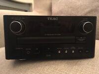 Teac CR-H258i Mini Micro Bookshelf Hi Fi CD MP3 DAB FM - Remote Included