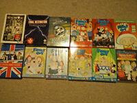 DVD, Boxset & Blurays