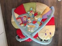 Little bird told me soft playmat with toys. Fantastic condition.