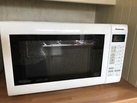 Panasonic touch combination microwave