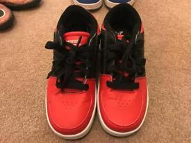 Brand New Girls/Boys Red Heelys Size 1