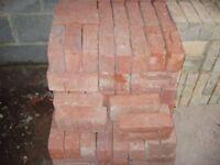 170 Unused Red Facing Bricks
