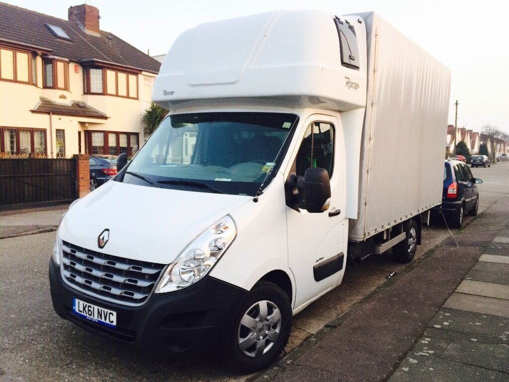 renault master 3 150 dci ll35 luton curtain side van in enfield london gumtree. Black Bedroom Furniture Sets. Home Design Ideas