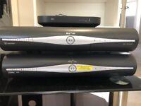 Sky digital set top boxes & broadband router