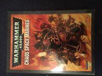 Warhammer 40k Chaos Space Marine Codex