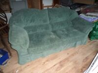 Large modern luxury-quality 2 seater Settee / Sofa - VGC & Very Comfortable 2100 mm wide