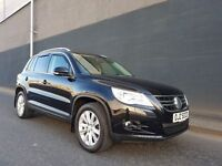MARCH2009 VOLKSWAGEN TIGUAN SE 2.0TDI 140BHP 4MOTION 6SPEED OUTSTANDING EXAMPLE FULL SERVICE HISTORY