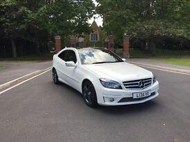 White Mercedes CLC 200 CDI SPORT