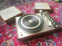 Phillips turntable and speakers