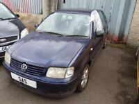 BREAKING 99 - 01 VOLKSWAGEN POLO 6N2 1.4 TDI