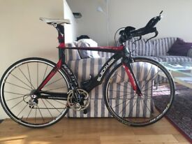 full AERO TX framed CARBON FIBRE Time Trial bike(OPEN OFFERS)