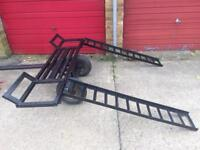 Cars recovery Dolly trayler