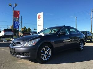 2009 Infiniti G37X Luxury ~All Wheel Drive ~7 Speed
