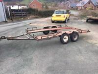 Car trailer car transporter