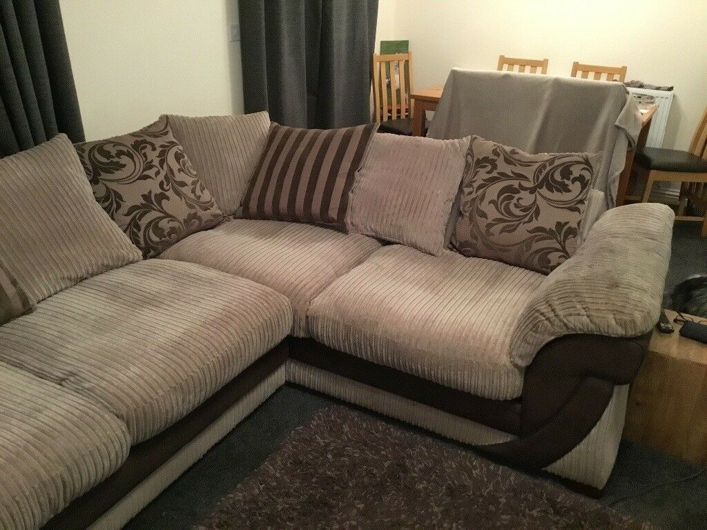 Dfs Corner Sofa Cuddle Chair And Footstool In Norwich