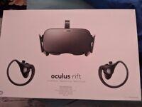 BRAND NEW Oculus Rift + Touch - Virtual Reality Headset