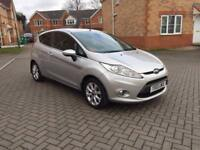 2010 FORD FIESTA ZETEC, 12 MONTH MOT, FULL SERVICE HISTORY, LOW MILEAGE 54k, FULL HPI CLEAR,